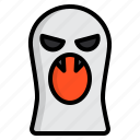 ghost, halloween, party, witch icon