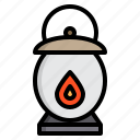 halloween, lantern, party, witch icon
