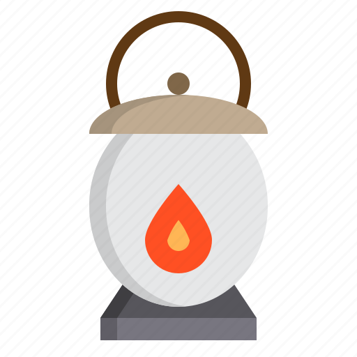 halloween, lantern, party, witch icon
