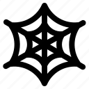 halloween, holiday, horor, nets, spider webs icon