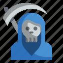 death, halloween, reaper, scary, scythe, spooky