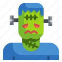 fear, frankenstein, halloween, horror, scary, spooky icon