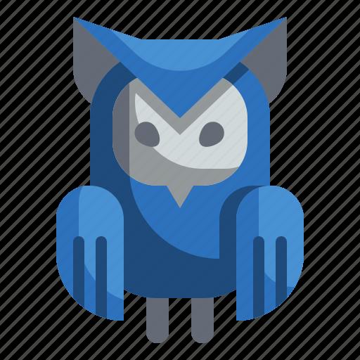 animals, bird, halloween, hunter, owl icon