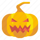 fear, halloween, horror, pumpkin, scary, spooky icon