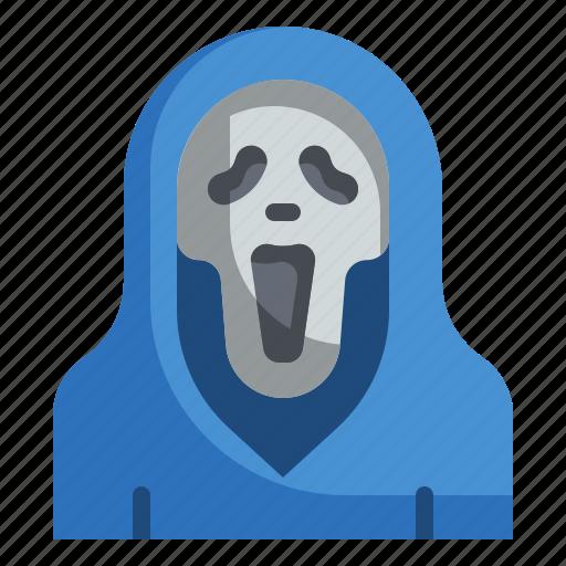 fear, halloween, horror, scary, scream, spooky icon