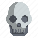 fear, halloween, horror, scary, skull, spooky icon