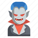 fear, halloween, horror, scary, spooky, vampire icon