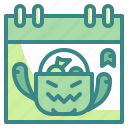 calendar, date, day, event, halloween, time icon