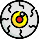 eye, eyes, ghost, halloween, scary, vision icon