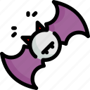 bat, ghost, halloween, horror, scary, spooky