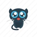 animal, cat, danger, halloween, scary icon