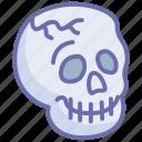 halloween, skeleton, skull