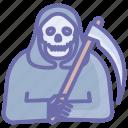 death, halloween, horror, reaper