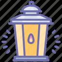 halloween, lantern, light icon