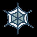 halloween, horror, spider, spiderweb, web icon