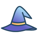halloween, hat, magic, witch, witches, wizard icon