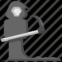 death, skull, reaper, scared icon