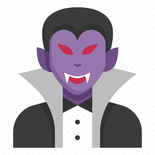 Dracula, halloween, horror, monster, scary, spooky, vampire icon - Download on Iconfinder