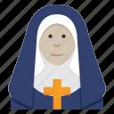 catholic, christian, faith, female, nun, religion, woman