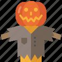 halloween, decoration, scarecrow, ornament, pumpkin, rural, farm