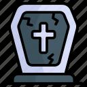grave, death, graveyard, tombstone, gravestone, cross, halloween