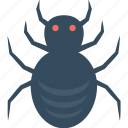 frightening, halloween spider, scary, spider, web spider icon