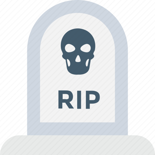 gravestone, head, headstone, rip, tombstone icon