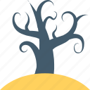 forest, ghost tree, halloween tree, nature, tree icon