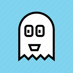 casper, friendly, ghost, halloween, haunt, pacman, spirit icon