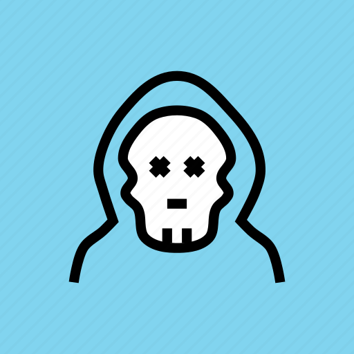 apocalypse, dead, monster, skeleton, skull, witch, zombie icon