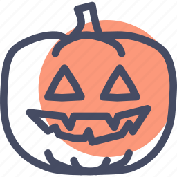 candle, evil, halloween, jack o lantern, pumpkin, scary, spooky icon