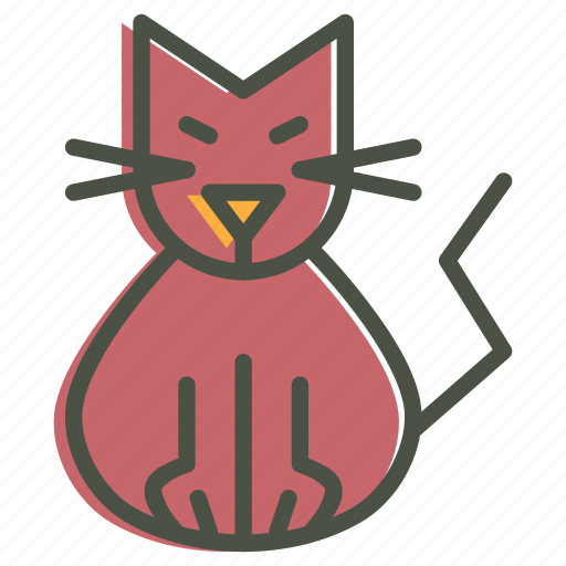 cat, evil, feline, halloween, kitten, kitty, purr icon