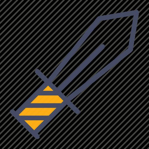 ammunition, sword, weapon icon