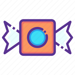 candy, halloween, party, sweet, treat icon