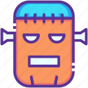 character, frankenstein, halloween, horror, monster, scary, zombie icon