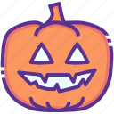 candle, evil, halloween, jack o lantern, pumpkin, scary, spooky icon