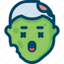 avatar, death, evil, halloween, head, zombie icon
