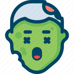 avatar, death, evil, halloween, head, zombie icon