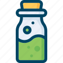 bottle, fairy, halloween, poison, potion, tale icon