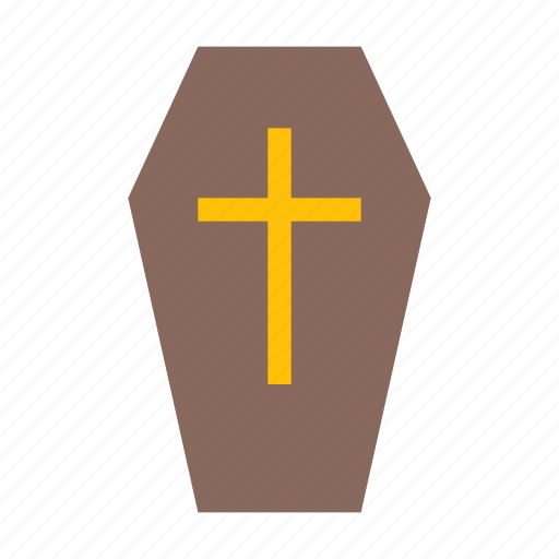 coffin, death, evil, halloween, horror, skull, spooky icon