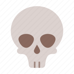 death, halloween, head, horror, scary, skull, spooky icon