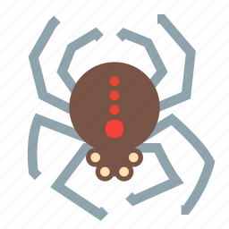 evil, halloween, horror, scary, spider, spooky icon