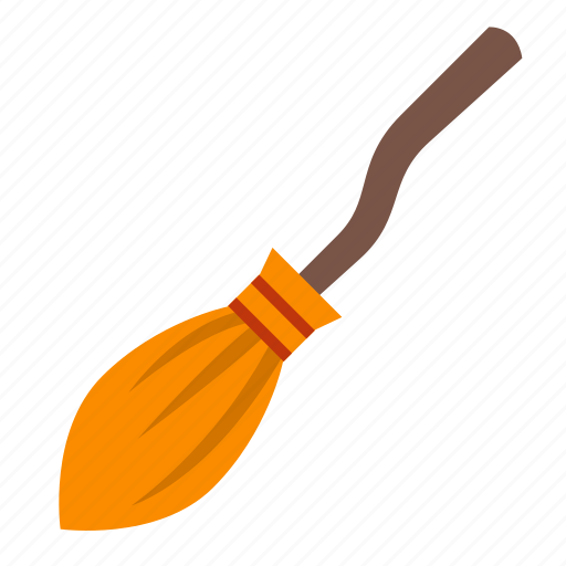 broom, evil, halloween, horror, scary, spooky, witch icon