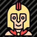 gladiator, male, man, spartan, warrior