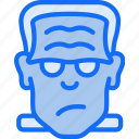 beast, frankenstein, freak, halloween, monster icon