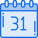 calendar, date, evil, halloween, october icon