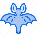 animals, bat, evil, flying, halloween icon