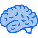 brain, evil, halloween, thinking, zombie icon