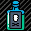 drink, evil, halloween, mixture, poison icon