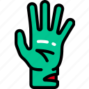 arm, dead, evil, halloween, hand, zombie icon